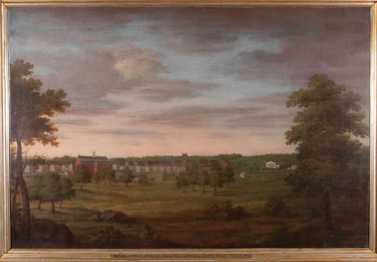 Lowell 1825 by Benjamin Mather